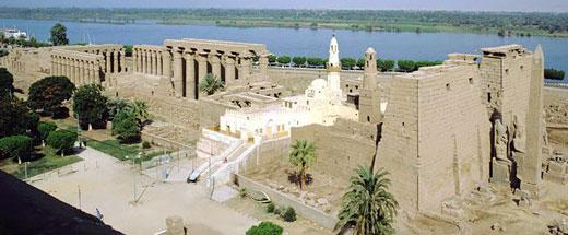 храмовый комплекс в Луксоре